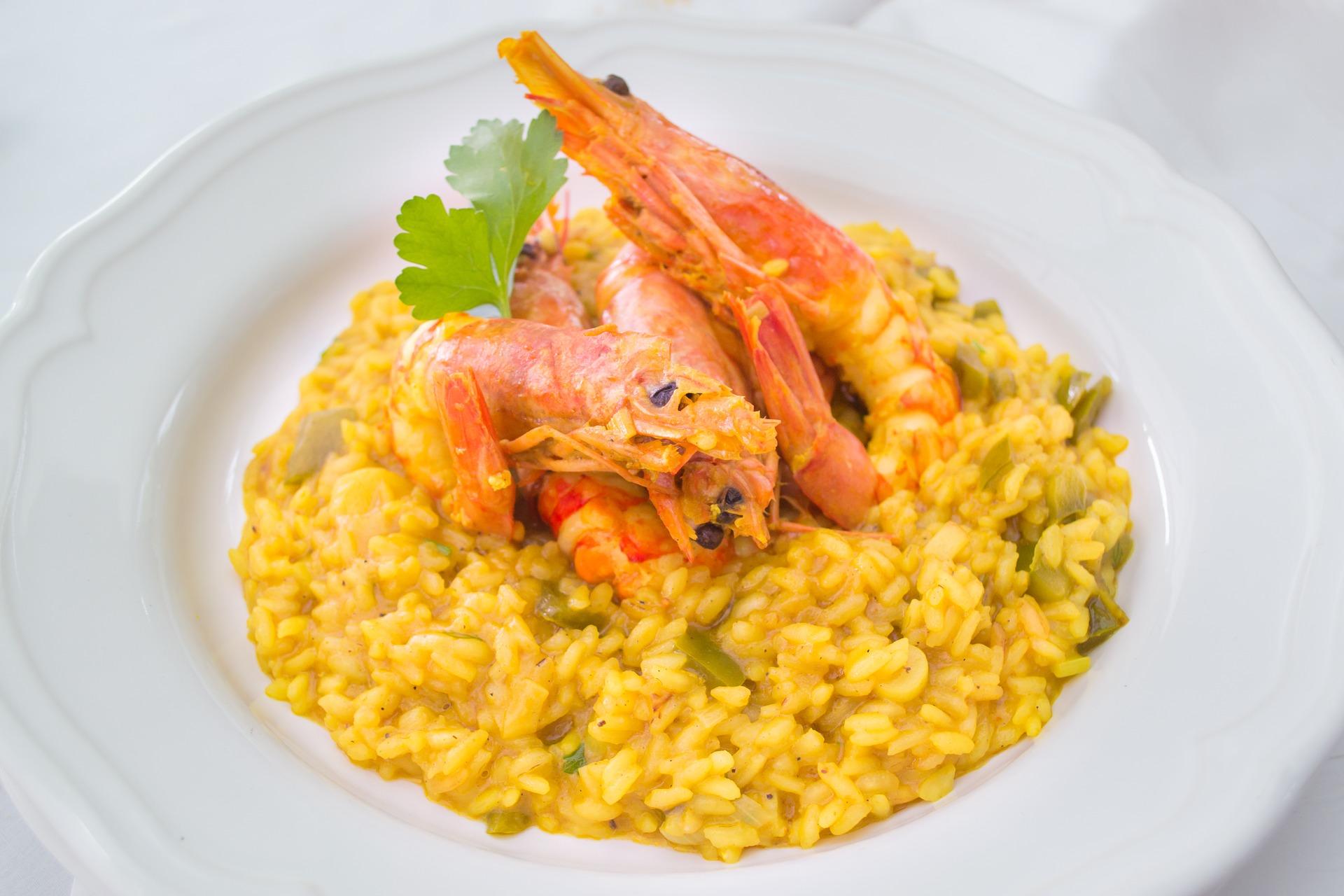 2. Il vino per il risotto con il pesce