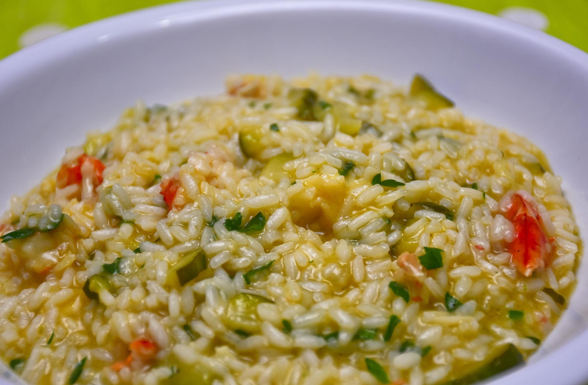 3. Il vino per il risotto con le verdura