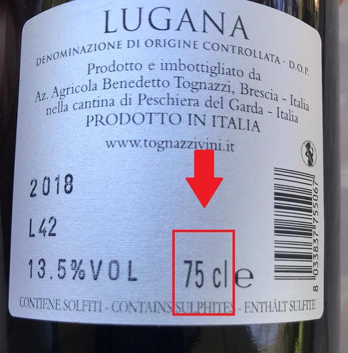 Perché le bottiglie di vino sono da 75 cl?