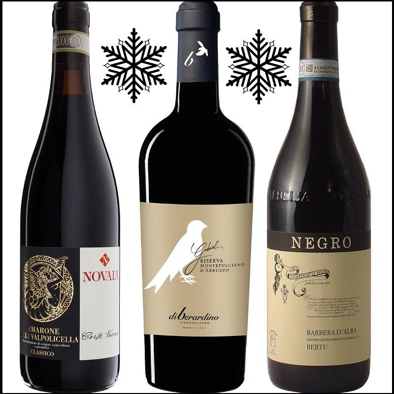 3 vini rossi per affrontare l'inverno