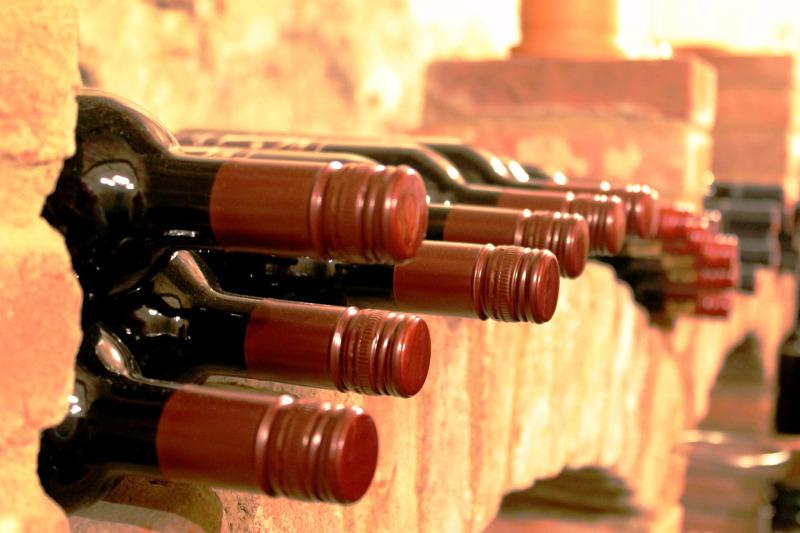 La storia della bottiglia di vino
