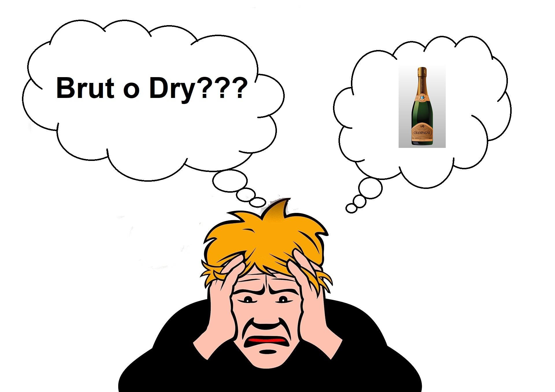 Brut e Dry: significato e differenze