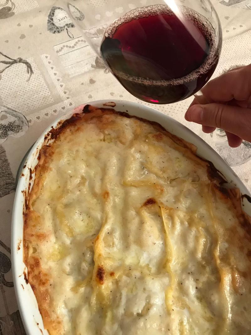 Abbinamento Vino e Lasagne ai Funghi Porcini