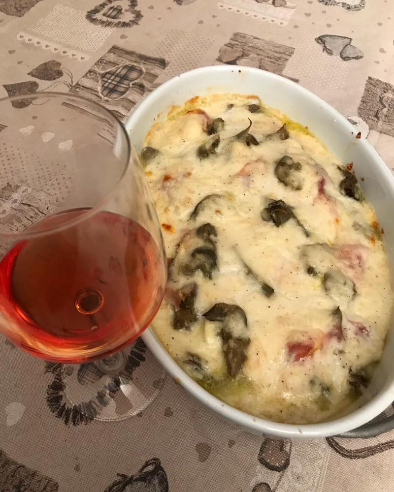 Abbinamento Vino e Sformato ai Carciofi