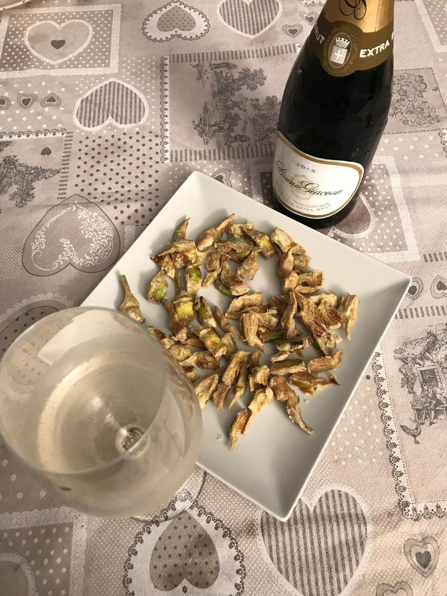 Abbinamento Vino e Castraure
