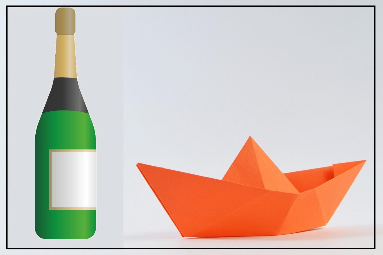 Perché al Varo di una Nave si Rompe una Bottiglia di Vino