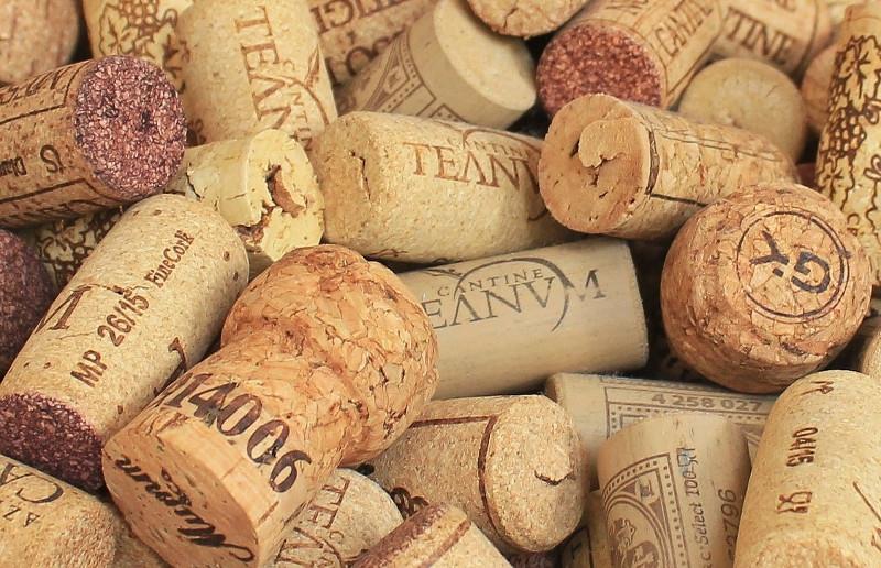 Tipologie di tappi per vino