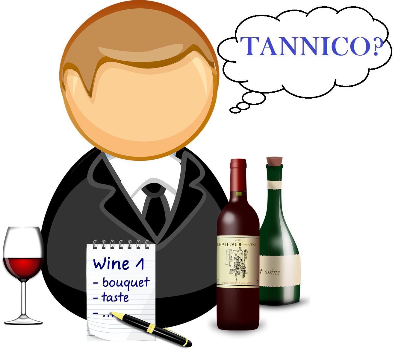 Che cosa significa vino tannico