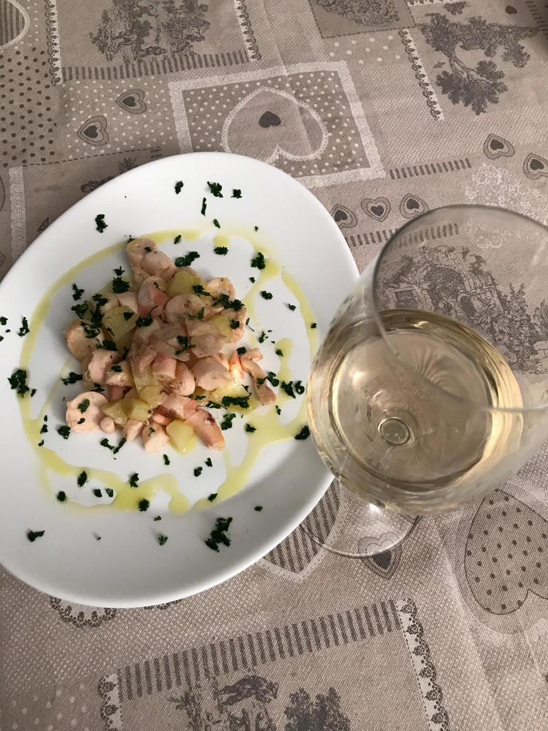 Abbinamento Vino e Polpo con Patate