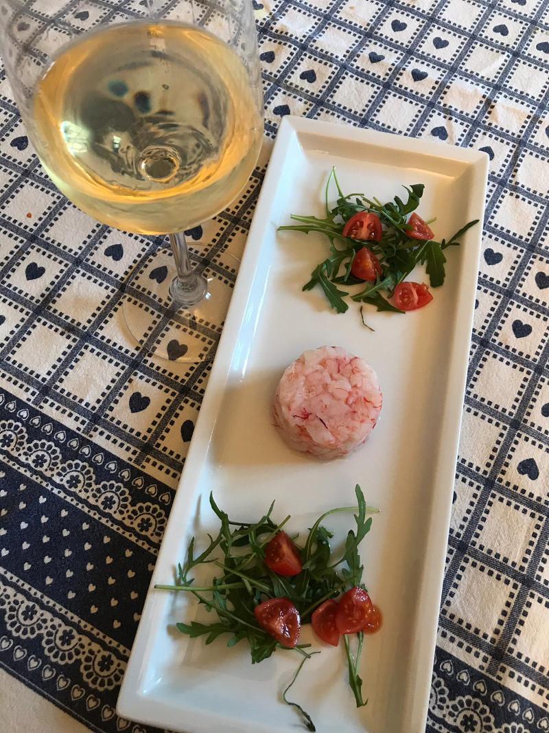 Abbinamento Vino e Tartare di Gamberi Rossi di Mazara del Vallo