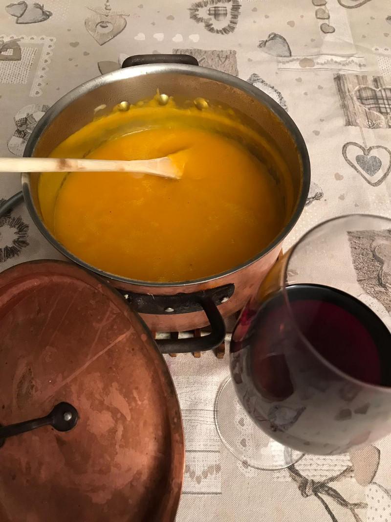 Abbinamento Vino e Vellutata di Zucca