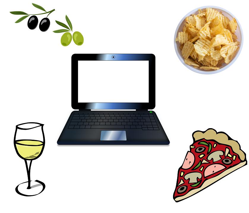 Come organizzarsi per un aperitivo virtuale fai da te
