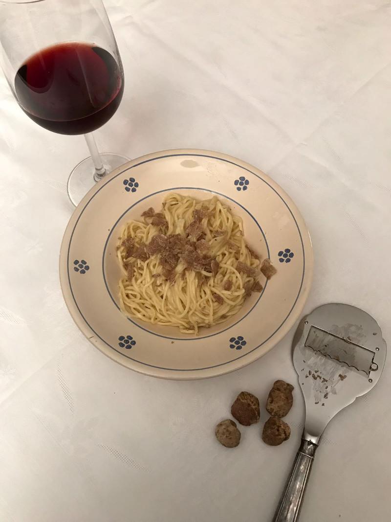 Abbinamento Vino e Tagliolini al Tartufo Bianco