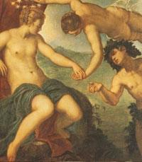 Arianna, Venere e Bacco